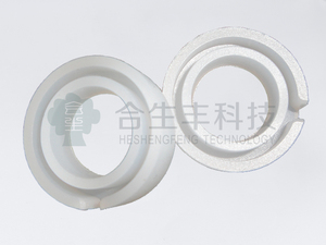 Heat-resistant silicone transparent seal